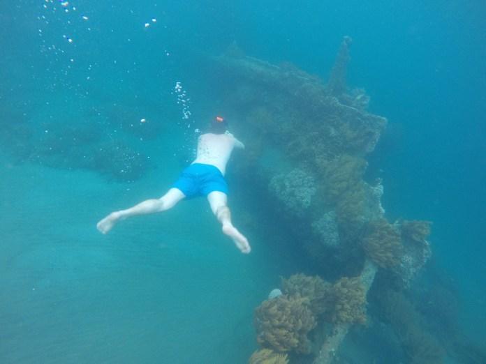 Snorekelling The Japanese Shipwreck In Bali Travel Tramp