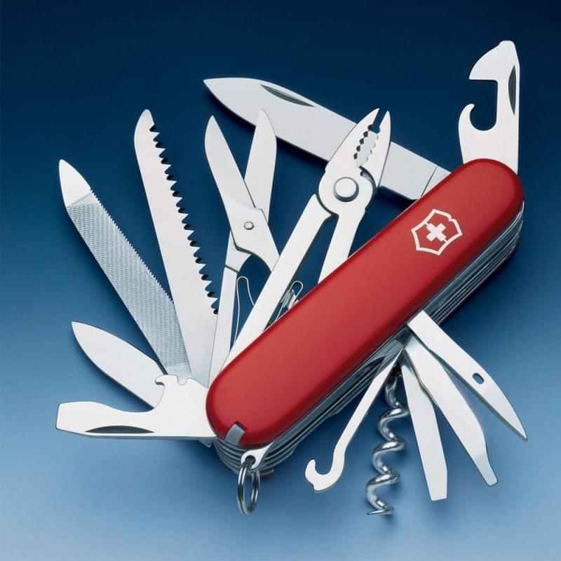 mai rinunciare al coltellino svizzero