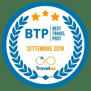 Badge BTP Settembre 2019