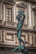 Perseo and Medusa, Benvenuto Cellini, Loggia della Signoria, Firenze