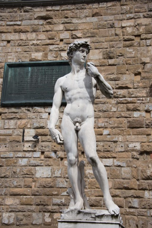 Michelangelo's David - a must see in Florence