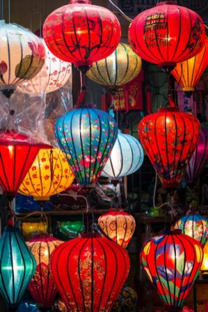 Chinese Lanters in Hoi An Vietnam