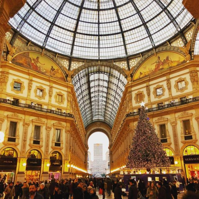 The Galleria in Milan