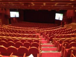 cruise ship theatre