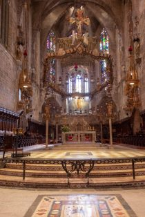 The Altar in the Gothic Cathedral