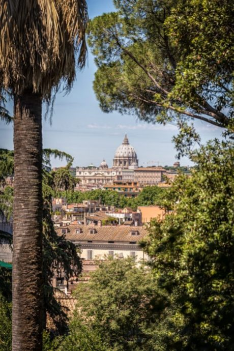 The View from the Pincio in Rome
