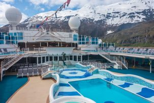 Repositioning cruise from Alaska to Fort Lauderdale