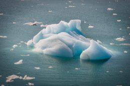 Iceberg at Hubbard Glacier