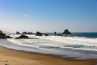 Beach at Ecola State Park