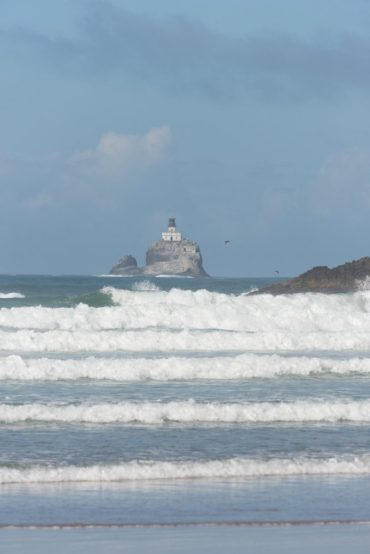 Lighthouse at Ecola State Park - a nice side trip when visiting from Astoria to Cannon Beach
