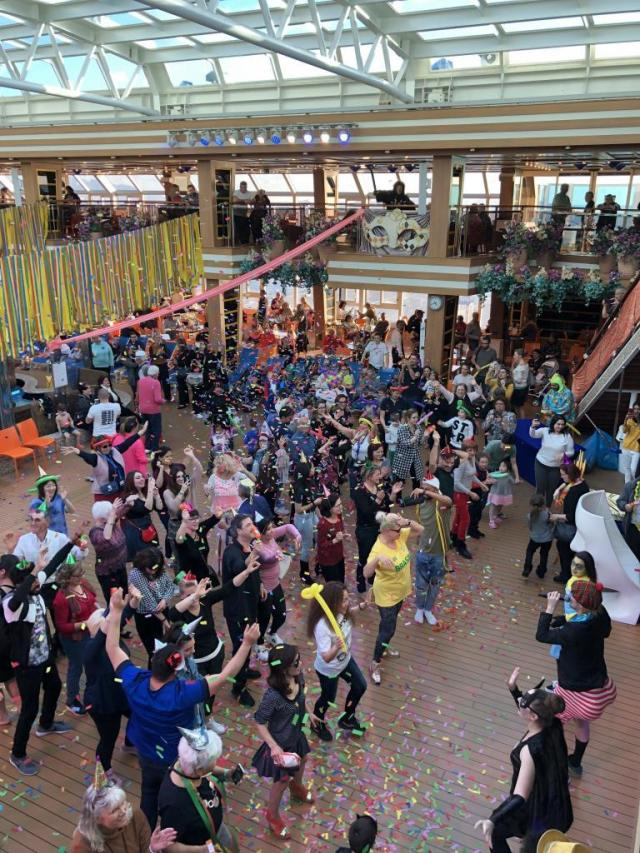 Dance Party on a Cruise is a perfect way to stay fit