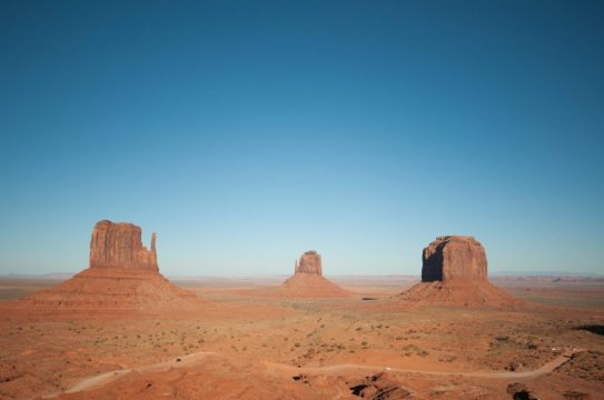 Monument Valley the view from the hotel