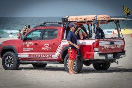 Lifeguard at Mission Beach