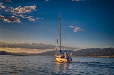 Sailing on the Okanagan Lake