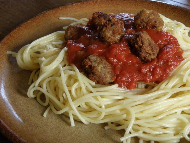 Spaghetti and Meat Balls : Not Real Italian Food!