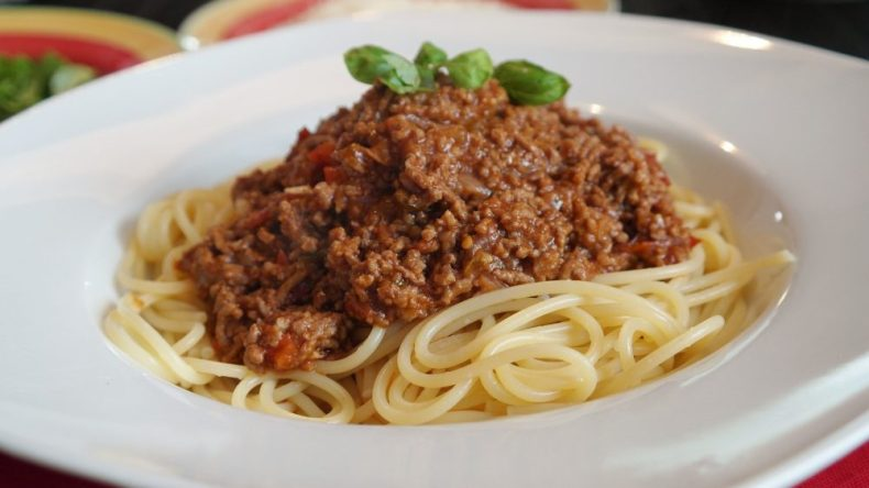 Spaghetti Bolognese - Not Real Italian Food or Authentic Cuisine