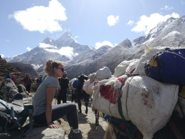 Debouche to Dingboche - Mount Everest Base Camp Trek