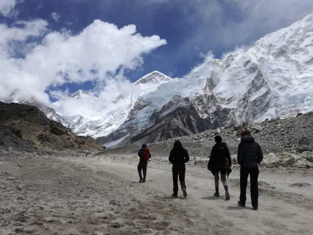 Pyramid to Gorak Shep - Mount Everest Base Camp Trek