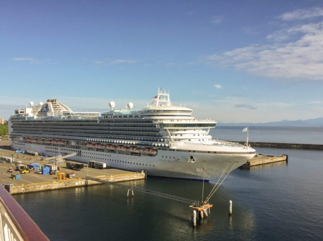 Crown Princess Cruise in Port
