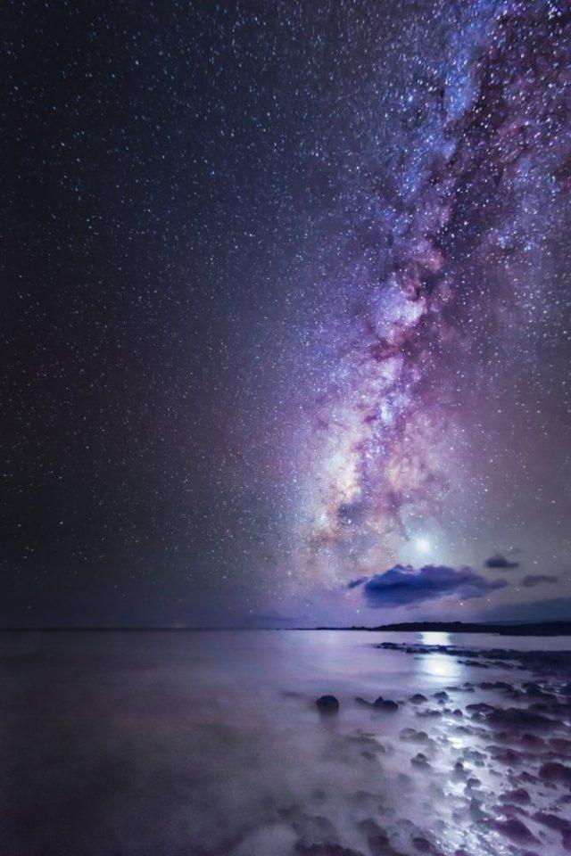 Milky way - photo taken while traveling