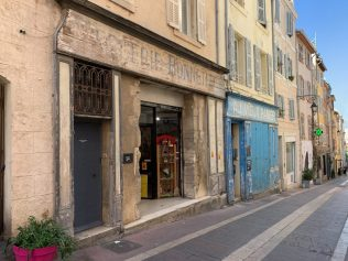 An Old street in Marseille