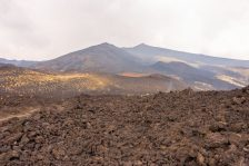 Hiking the Crateri Silvestri on Mount Etna