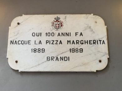The birth place of Margherita Pizza