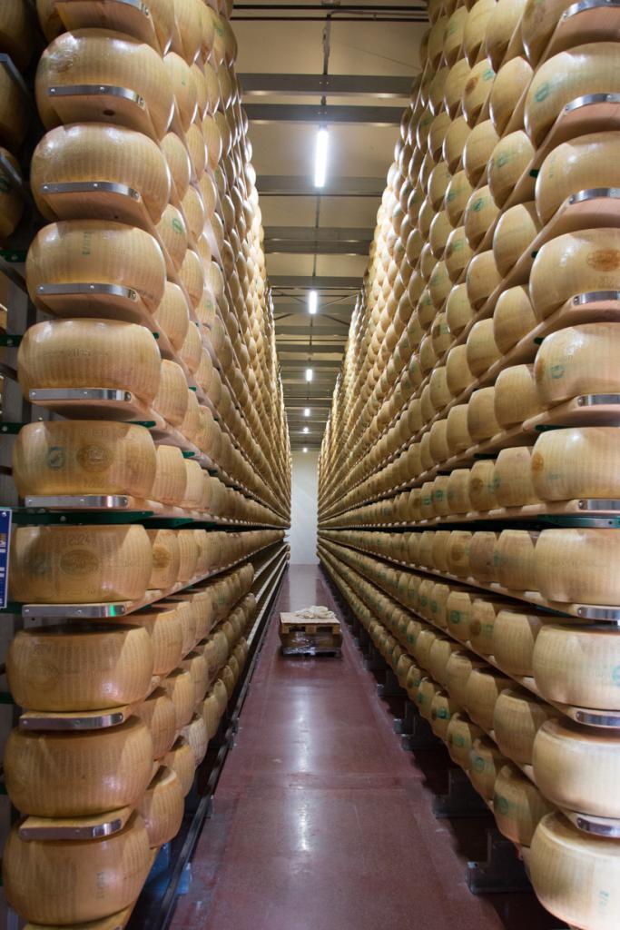 Parmiggiano Reggiano Factory in Modena