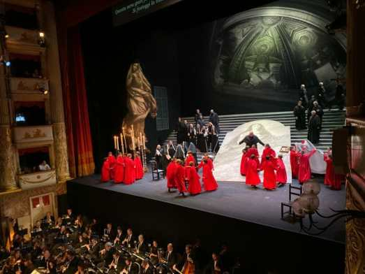 Tosca at the Pavarotti Theatre in Modena