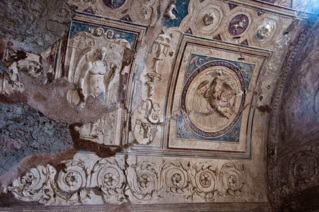 Forum Bath in Pompeii