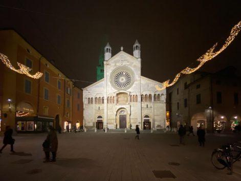 Modena Duomo, the front