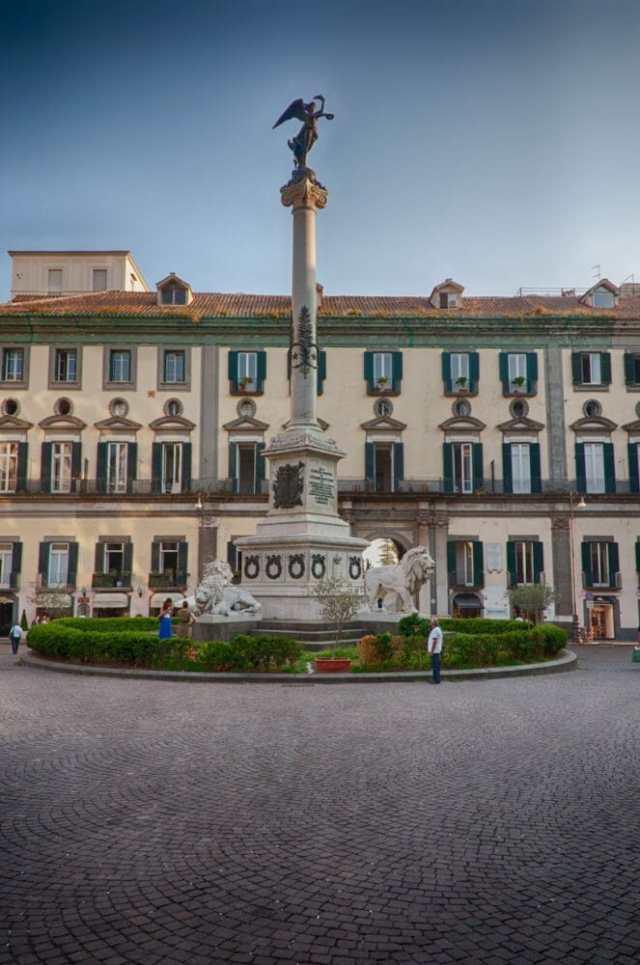 The Chiaia distric of Naples