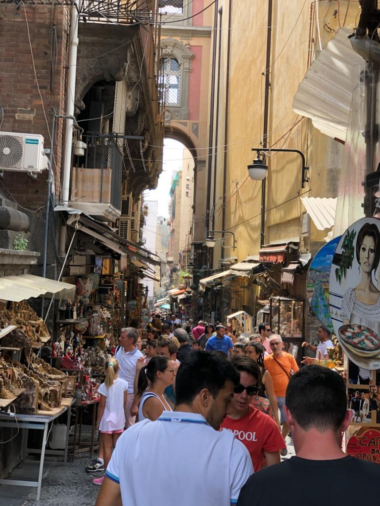 Visit the San Gregorio Armeno in Naples Italy at Christmas time