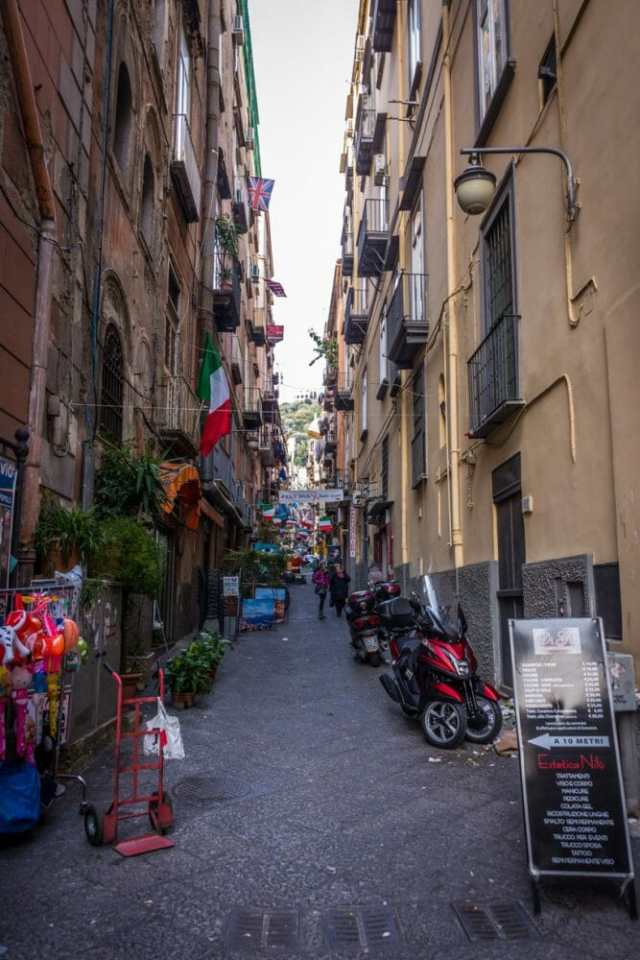 Naples, Quartieri Spagnoli - a must see and do