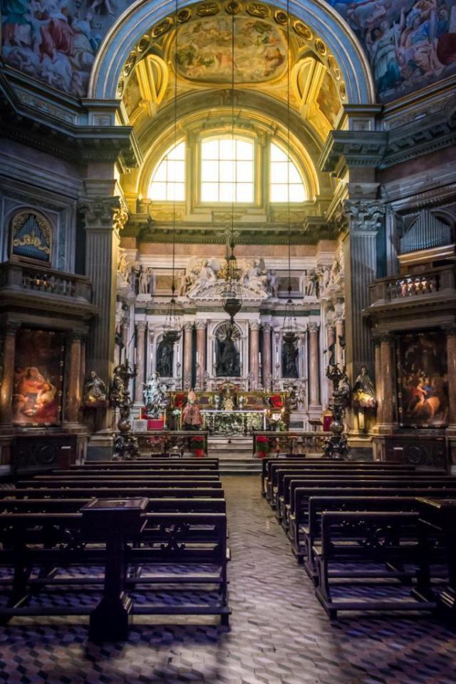 The duomo of Naples Italy