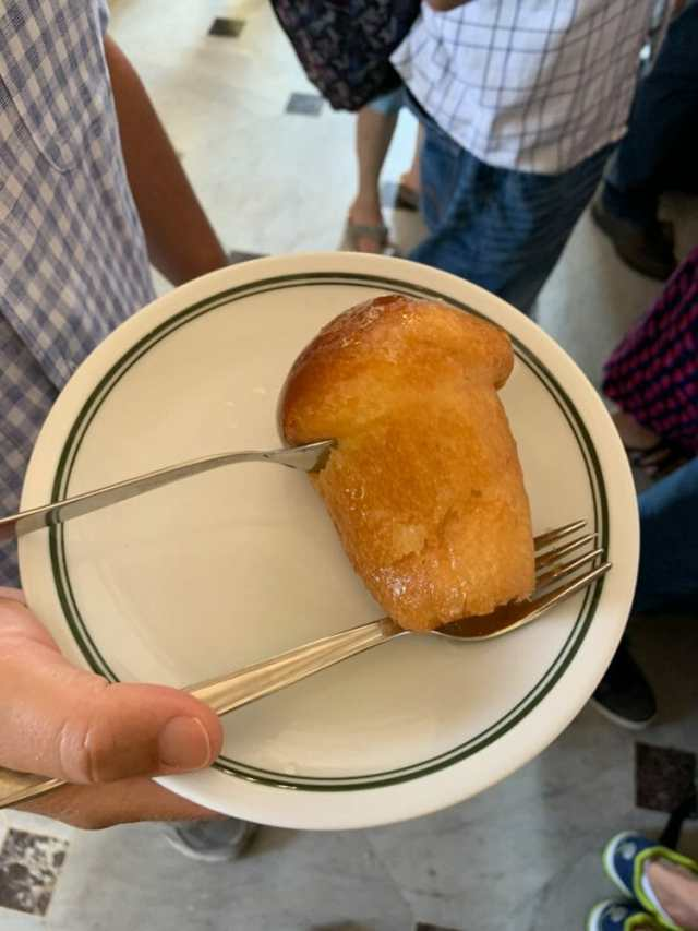 Rum Soaked Baba in Naples - a must eat!