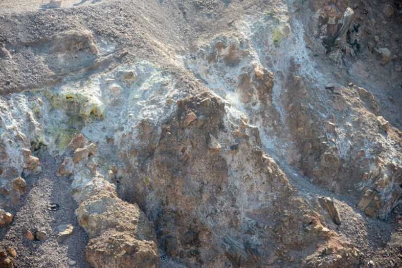 Stream Venting from the crater