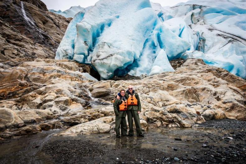Our final Destination, Davidson Glacier - a top cruise excursion