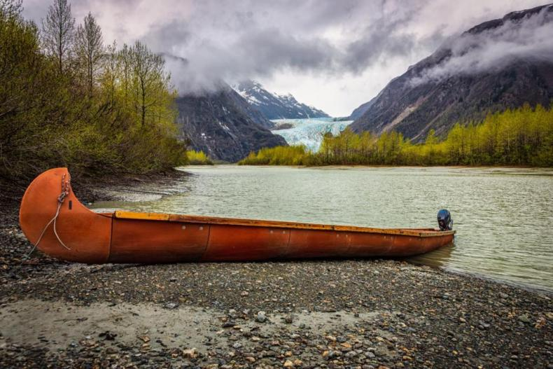 The Davidson Glacier - one of top alaska land or cruise excursions and favorite among many