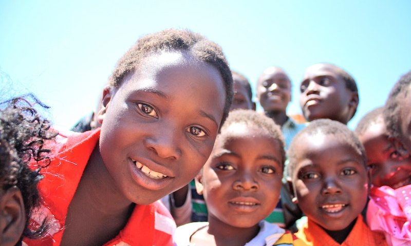 Group Photo of Children in Africa