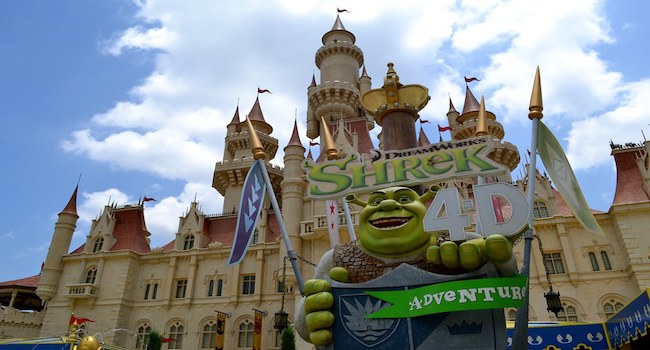 Shrek in 4D at Universal Studios Singapore