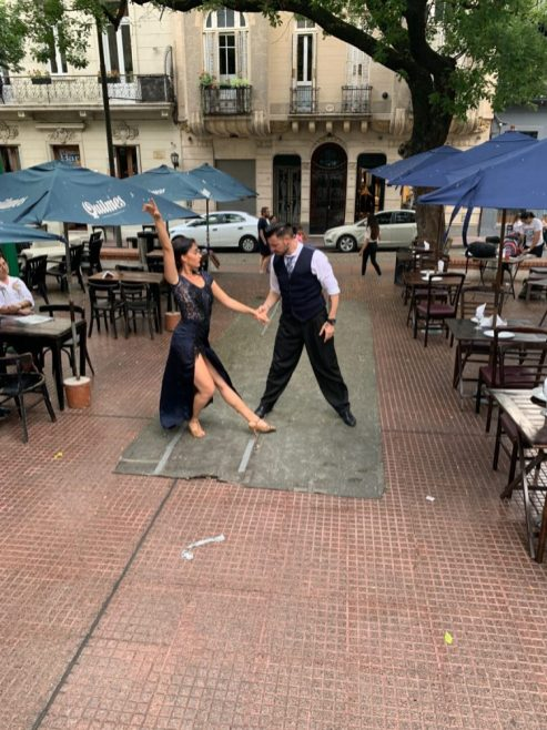 Tango in Buenos Aires - on our Cruise to South America