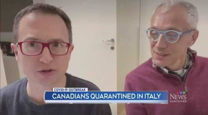 Rick Orford and Andrea Spallanzani Interviewed by CTV News Vancouver