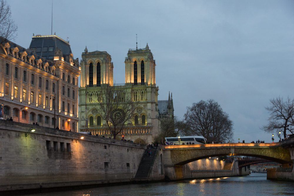 Notre Dame Before the Fire Paris France