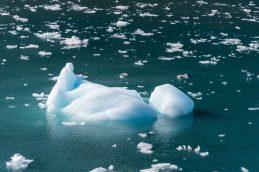 Iceberg Floating by Hubbard