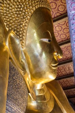 Buddaha's in Bangkok - a stop on our cruise to asia