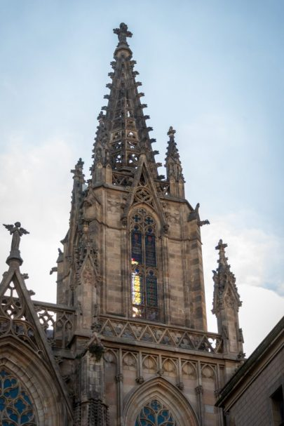 The top of The Cathedral