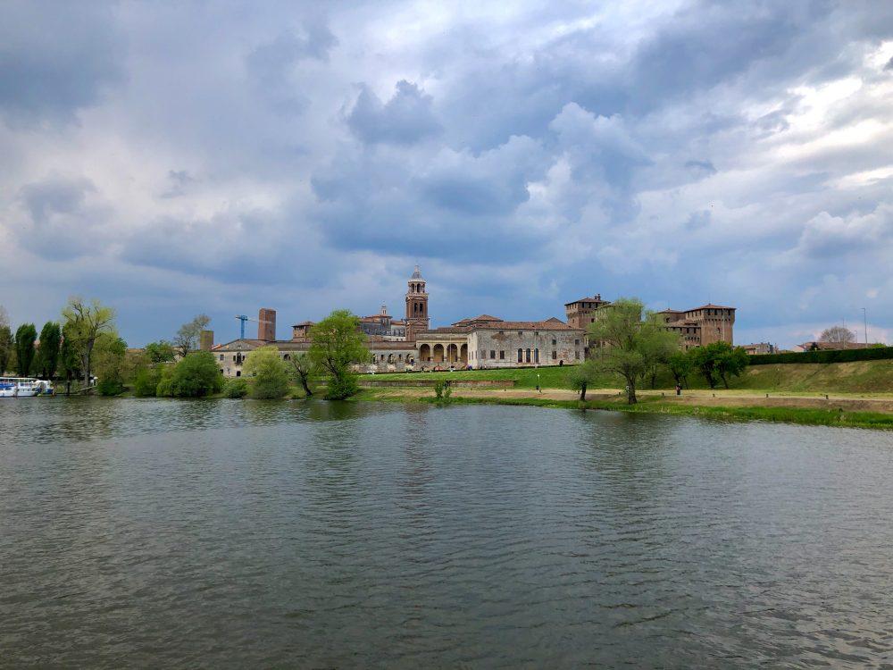Mantova Italy - From the Lake