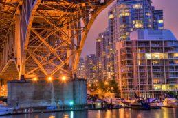 Vancouver and the Granville Bridge