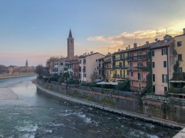 Adige River Banks